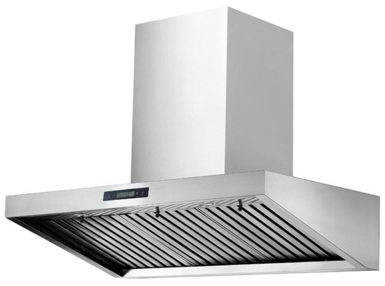 "K1016A-36"" Wall Mounted Kitchen Range Hood (Baffle Filter) - KSTAR"
