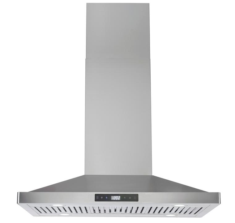 "K1023B - 36"" Island Gesture Control Kitchen Range Hood (Baffle Filter) - KSTAR"