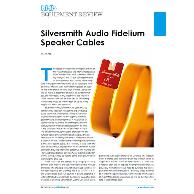 New Fidelium Review!