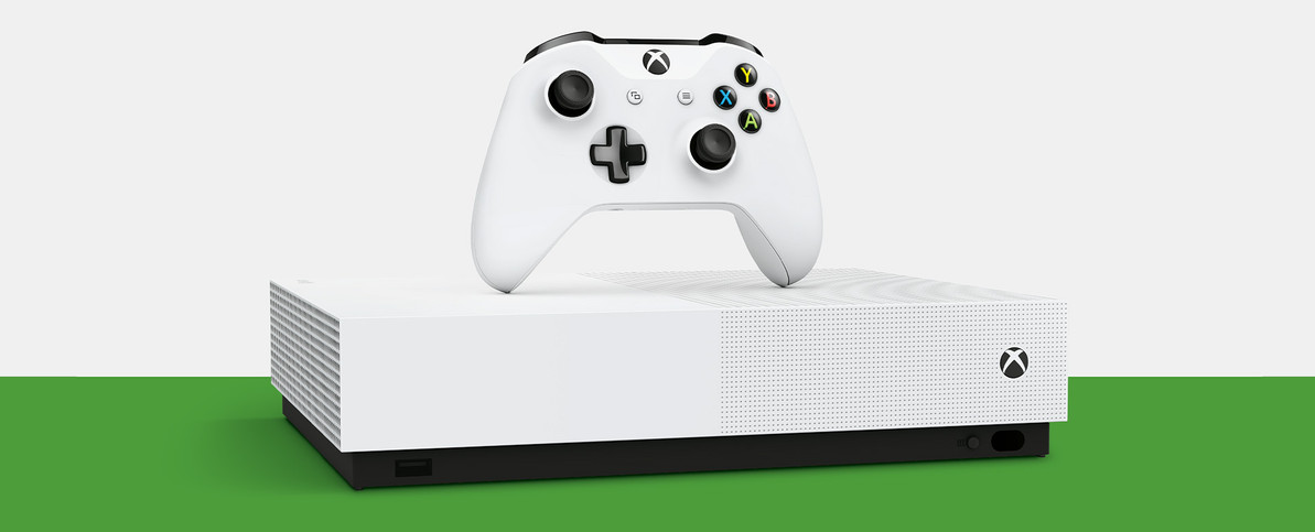 Xbox ONE S All-Digital Edition Officially Announced