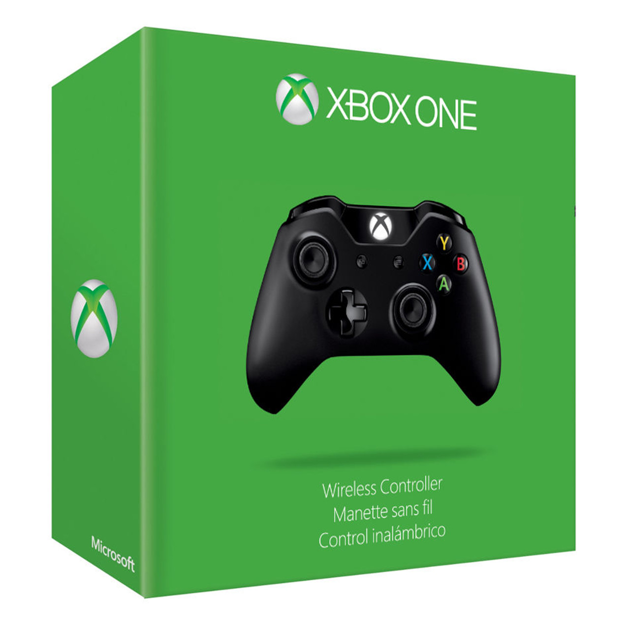 Official Microsoft Xbox ONE Wireless Controller (1537, Black)