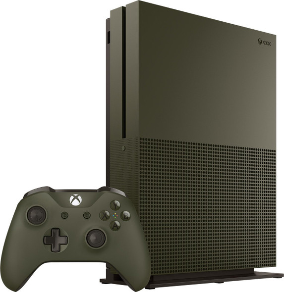 Xbox ONE S 1TB Military Green Special Edition console