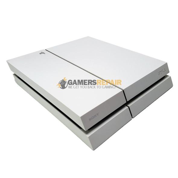 ps4 500gb cuh-1115a glacier white console - gamers repair