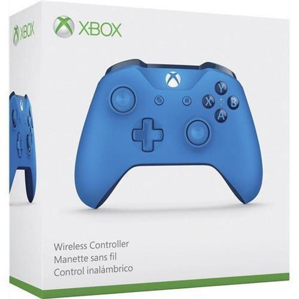 Xbox ONE S WL3-00018 Wireless Bluetooth Controller (Blue, 1708)