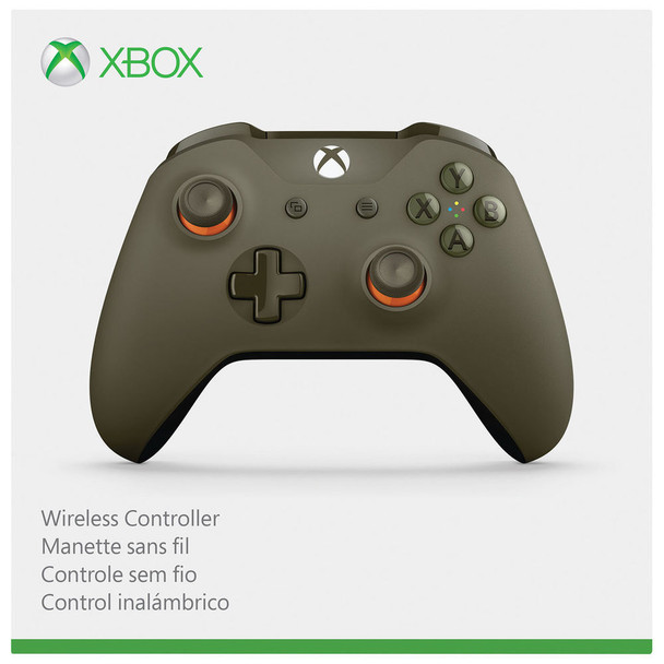 Xbox ONE S Wireless Bluetooth controller gamepad orange green 1708