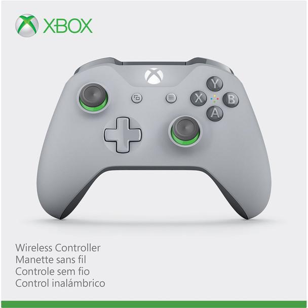 Xbox one wireless Bluetooth controller grey/green 1708