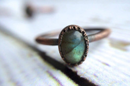 Labradorite Stacker Ring