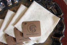 Raw Silk Wash Cloth