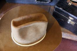 Rattlesnake Vertebrae Hat