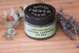 Matcha Lavender Botanical Face Mask