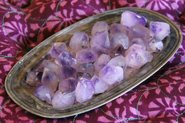 Amethyst Crystal Points