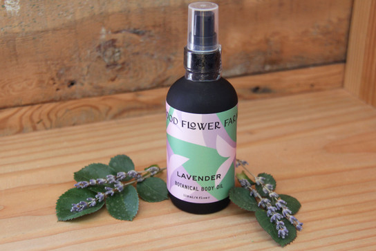 Lavender Botanical Body Oil