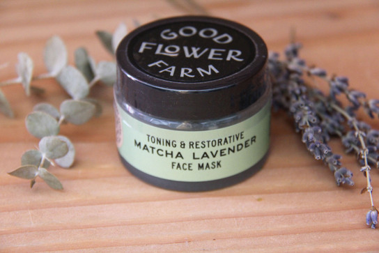 Matcha Lavender Botanical Face Mask