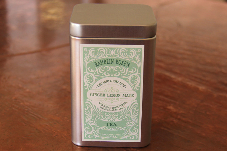 Ginger Lemon Mate Tea
