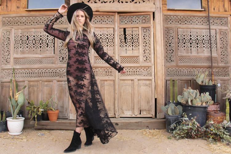 Black Mamba Maxi Dress
