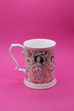 Peter's Naked Ladies Tankard