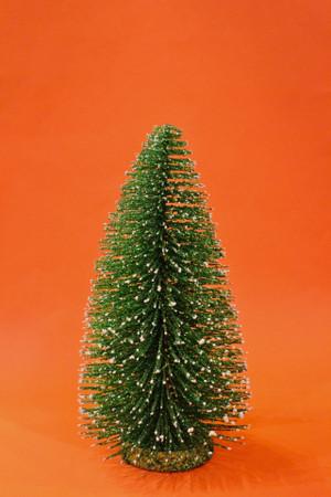 Green Glitter Tree