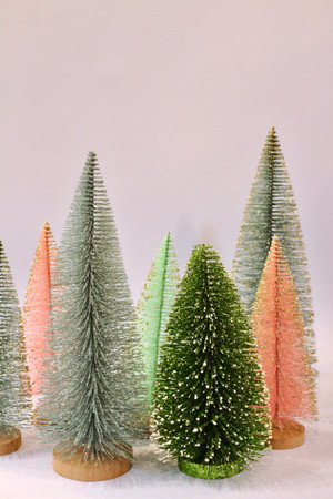 Glitter Brush Tree