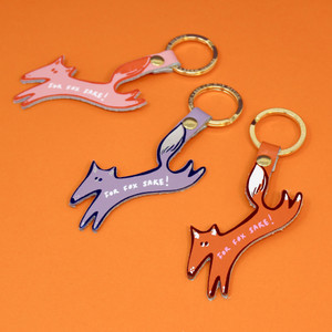 For Fox Sake Key Fob