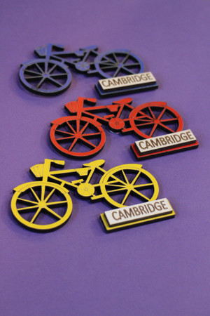 Cambridge Bicycle Magnet