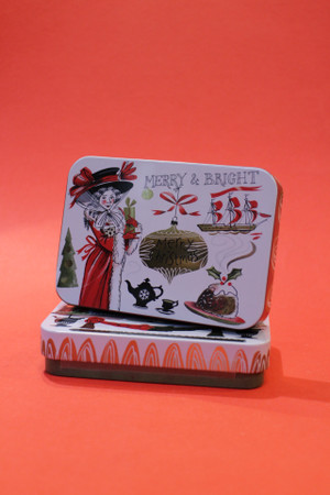 Christmas Fudge Tin