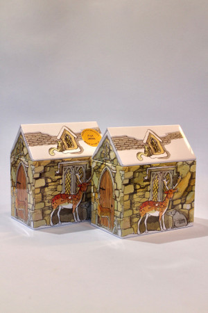 Winter House Tin