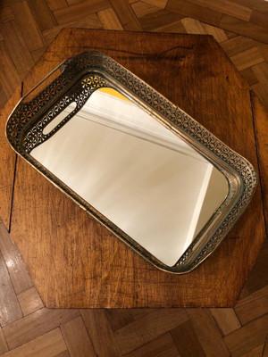 Mirrored Violo Tray