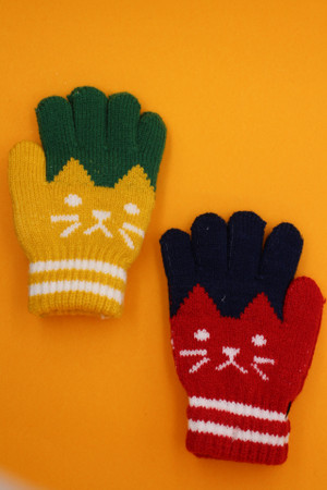 Children's Cat Gloves