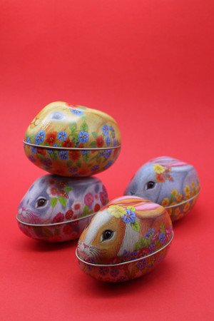 Rabbit Tin - Chocolate Eggs