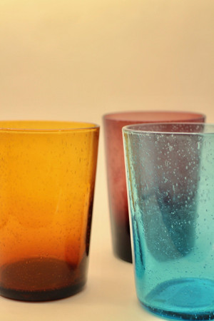 Handblown Recycled Glass Tumbler