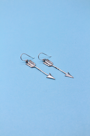 Sterling Silver Arrow Earrings