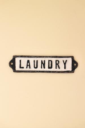 """""""Laundry"""" Door Sign"""