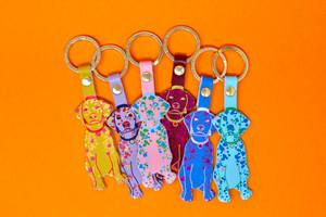 Woof Key Ring