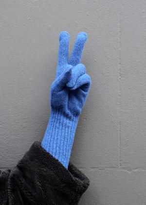 Long Cuff Wool Glove