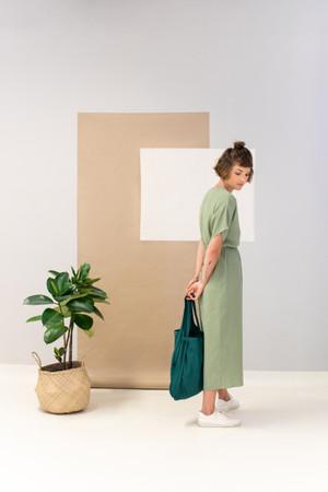 Foldable Cotton Rucksack