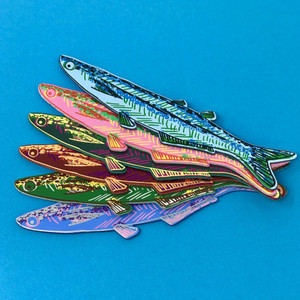 Fish bookmark