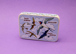 Bird Families Tin