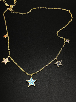London Star Necklace