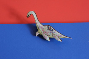 Large Dinosaur Brooch