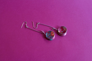 Cupped Dangle Earring