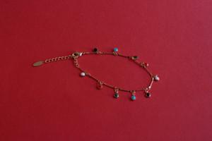 Enamel Charm Bracelet