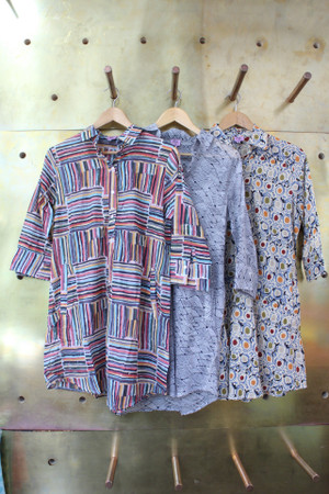 Cotton tunics