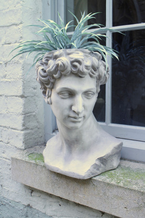 David Bust Flower Pot
