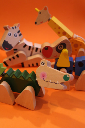 Wooden Animal Puzzle - SALE