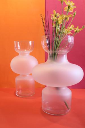 Transparent Nelika Vase