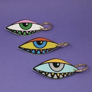 Eye Eye Key Fob