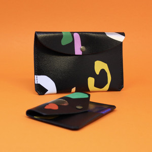 Large Abstract Purse