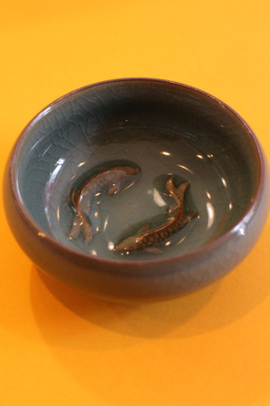 Small Ceramic Fish Bowl
