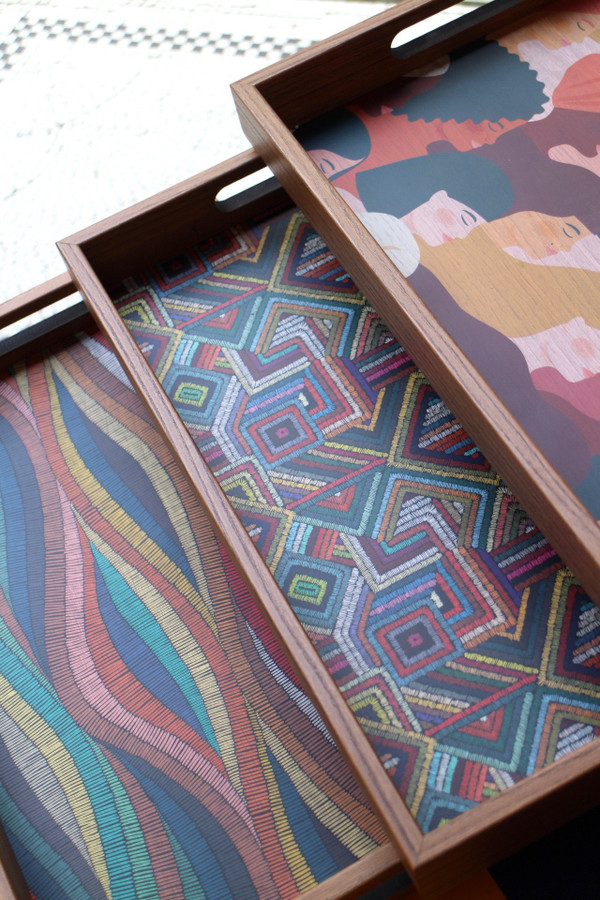 Printed Wooden Trays
