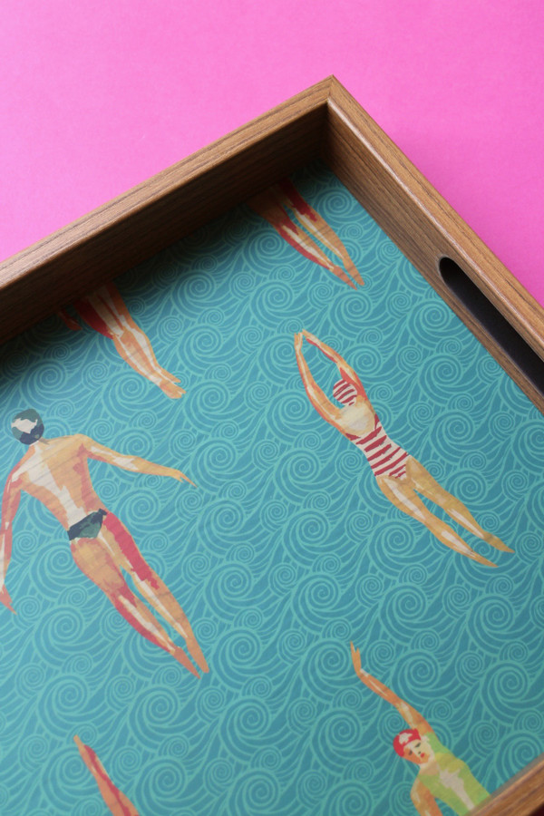 Swimmers tray - detail